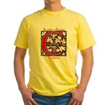 The Scarlet Letter Yellow T-Shirt