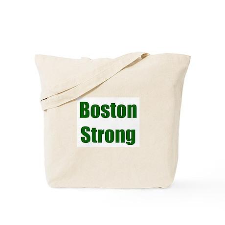 Boston Strong - green Tote Bag