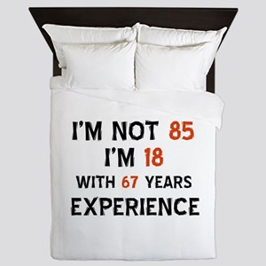 85 year old designs Queen Duvet