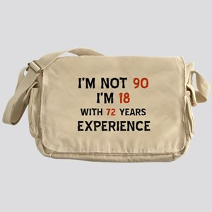 90 year old designs Messenger Bag