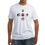 Lots o' Toasters Fitted T-shirt (Made in