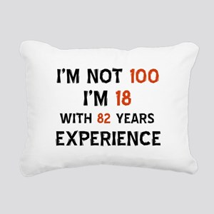 100 year old designs Rectangular Canvas Pillow