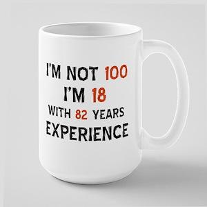 100 year old designs Large Mug
