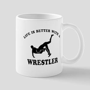 Wrestler Designs Mug