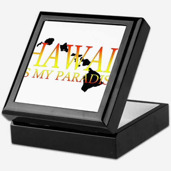 HAWAII IS MY PARADISE Keepsake Box