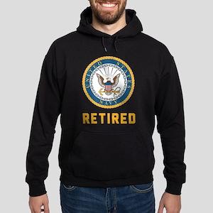 US Navy Retired Hoodie (dark)