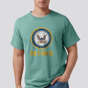 US Navy Retired Mens Comfort Colors Shirt