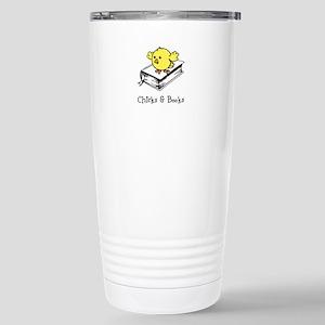 Chicks And Books Travel Mug