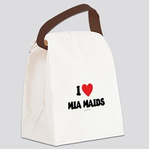 I Love Mia Maids - LDS Clothing copy Canvas Lunch