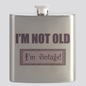 I'm Not Old I'm Vintage Flask