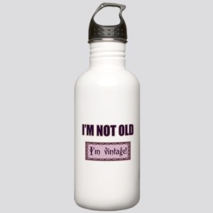 I'm Not Old I'm Vintage Stainless Water Bottle 1.0