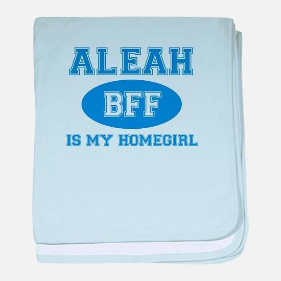 Aleah BFF designs baby blanket