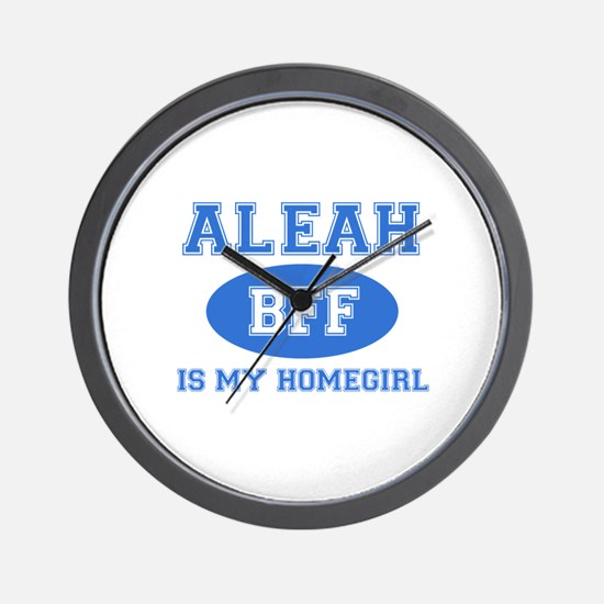 Aleah BFF designs Wall Clock