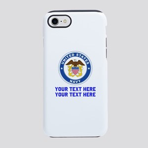 US Navy Sign Personalized iPhone 7 Tough Case