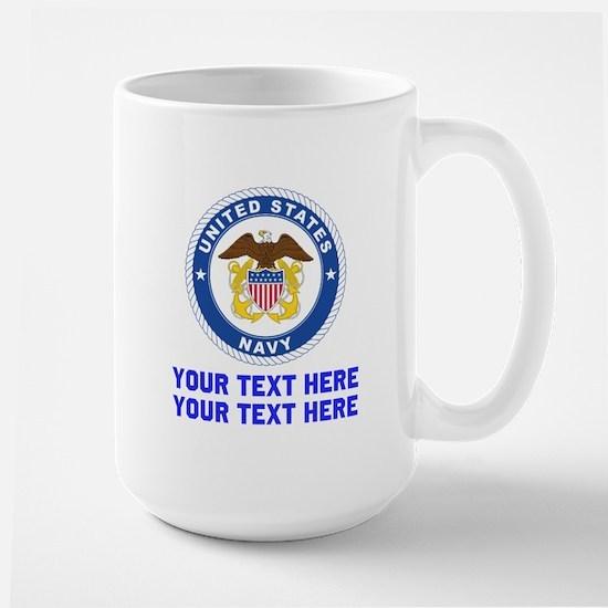 US Navy Sign Personalized Mug