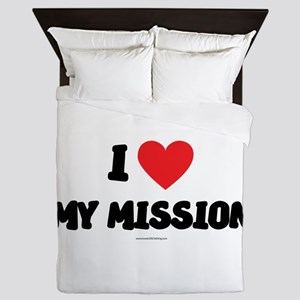 I Love My Mission - LDS Clothing - LDS T-Shirts Qu