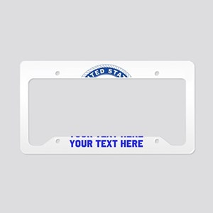 US Navy Sign Personalized License Plate Holder