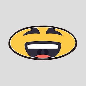 Laughing Emoji Face Patch