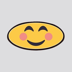 Grinning Emoji Face Patch