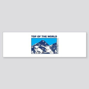Mount Everest Printed Sticker (Bumper)