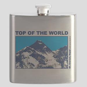 Mount Everest Printed Flask