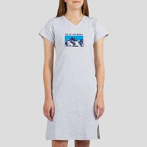 Mount Everest Printed Women's Nightshirt