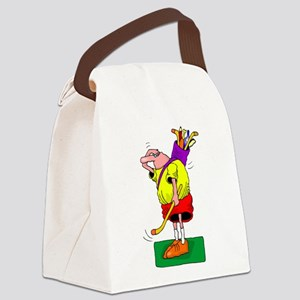 golf 1 Canvas Lunch Bag