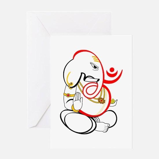 Beautiful Ganesh Greeting Card