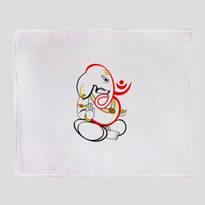 Beautiful Ganesh Throw Blanket