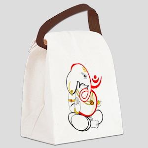 Beautiful Ganesh Canvas Lunch Bag