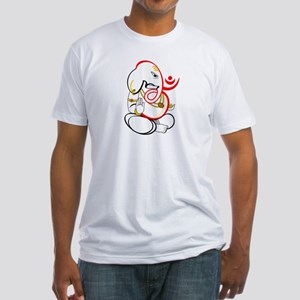 Beautiful Ganesh Fitted T-Shirt