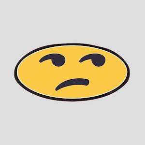 Unamused Emoji Face Patch