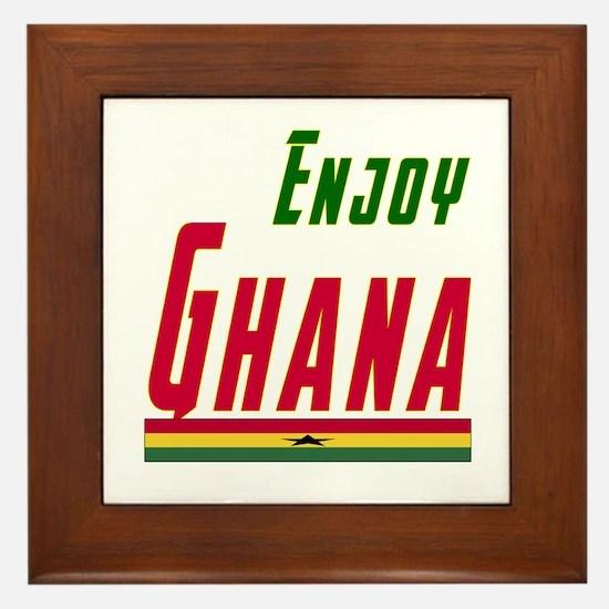 Ghana Designs Framed Tile