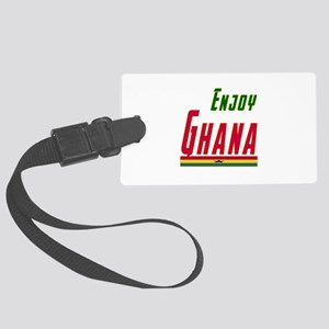 Ghana Designs Large Luggage Tag