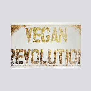 Vegan Revolution Rectangle Magnet