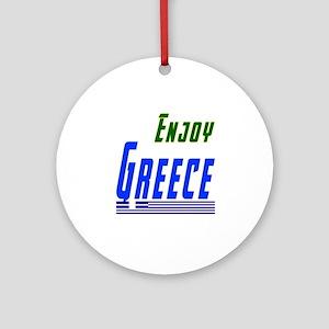 Greece Designs Ornament (Round)