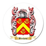 Brechyne Round Car Magnet