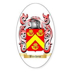Brechyne Sticker (Oval)
