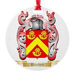 Brechyn Round Ornament