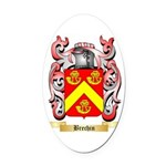 Brechin Oval Car Magnet