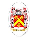 Brechin Sticker (Oval 50 pk)