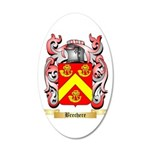 Brechere 20x12 Oval Wall Decal