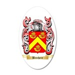 Brechere 35x21 Oval Wall Decal