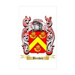 Brechen Sticker (Rectangle 50 pk)