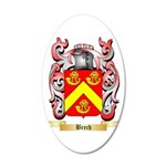 Brech 20x12 Oval Wall Decal