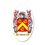 Brech 35x21 Oval Wall Decal