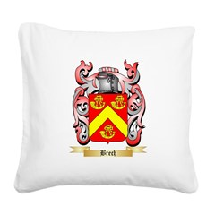 Brech Square Canvas Pillow