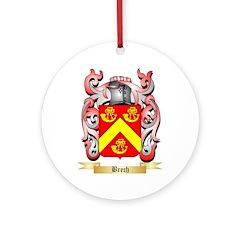 Brech Ornament (Round)