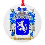 Breasley Round Ornament