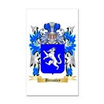 Breasley Rectangle Car Magnet
